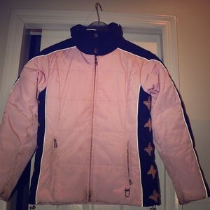 Authentic Bogner pink ski  jacket Size 6
